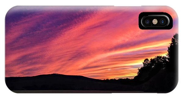 IPhone Case featuring the photograph Purple Sky by Sven Kielhorn