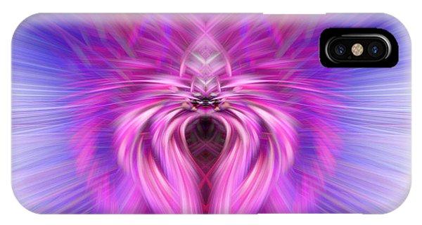 Purple Spider IPhone Case
