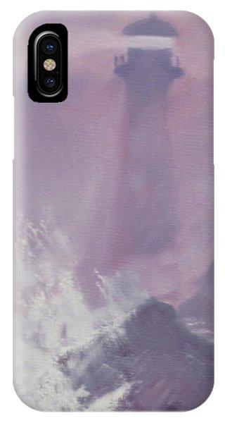 Purple Storm IPhone Case