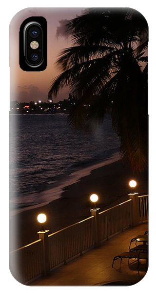 St. Maarten iPhone Case - Purple Sunset In Saint Martin by Toby McGuire