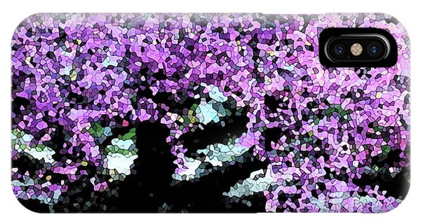 Purple Tree IPhone Case