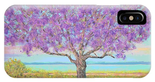 Purple Tree IPhone Case