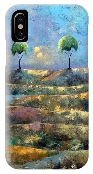 Purple Trees IPhone Case