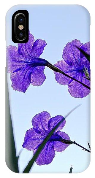 Purple Trio IPhone Case
