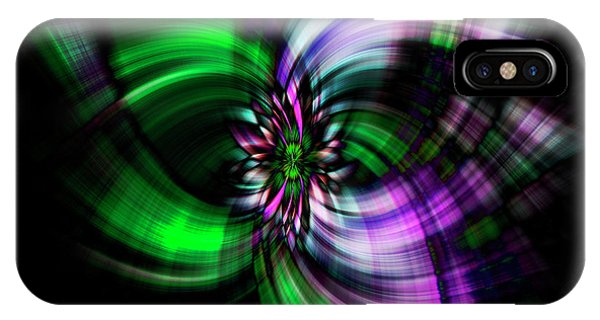 Purple Twirl IPhone Case