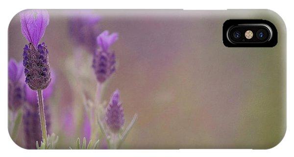 Purple Wings IPhone Case