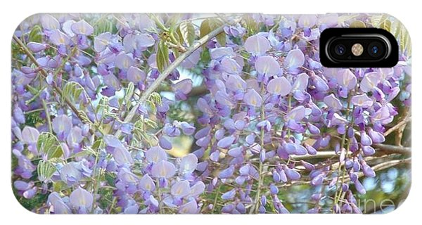 Purple Wisteria IPhone Case