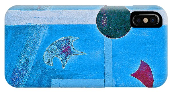 Purposphere Gone Blue IPhone Case