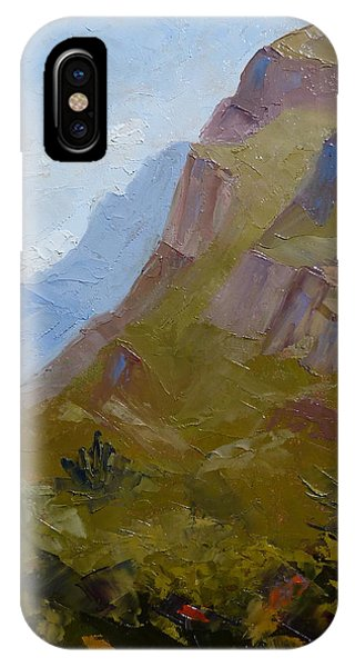 Pusch Ridge I IPhone Case