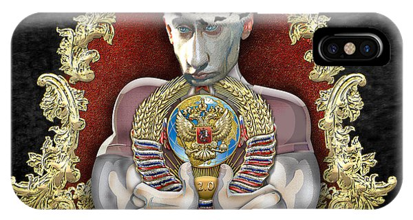 Political iPhone Case - Putin's Dream - Ussr 2.0 by Serge Averbukh