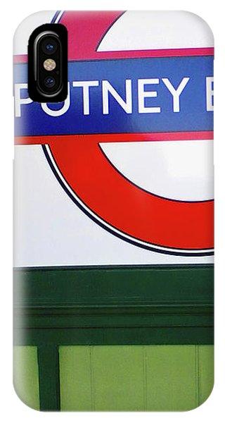 Putney Bridge IPhone Case