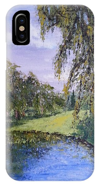 Putting Green Pond IPhone Case