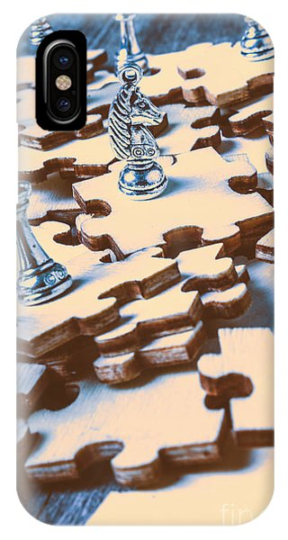 Stainless Steel iPhone Case - Puzzle Of Mysteries And Strategy by Jorgo Photography - Wall Art Gallery