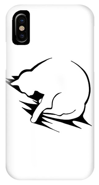 IPhone Case featuring the drawing Py by Keith A Link