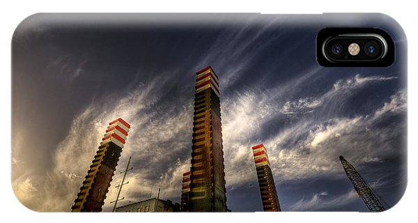 Pylons IPhone Case