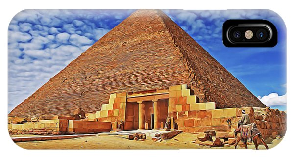 iPhone Case - Pyramid by Harry Warrick