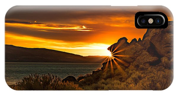 Pyramid Lake At Sunrise IPhone Case