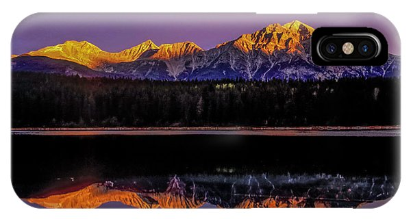 IPhone Case featuring the photograph Pyramid Mountain 2006 01 by Jim Dollar
