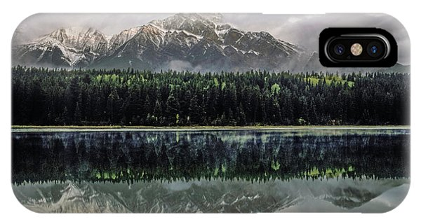 IPhone Case featuring the photograph Pyramid Mountain 2006 02 by Jim Dollar