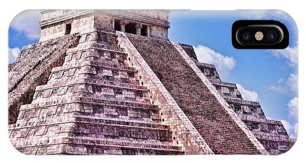 Pyramid Of Kukulcan At Chichen Itza IPhone Case