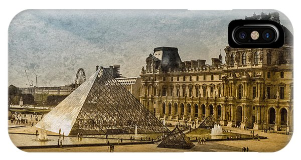 Paris, France - Pyramide IPhone Case