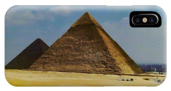 Pyramids, Cairo, Egypt IPhone Case