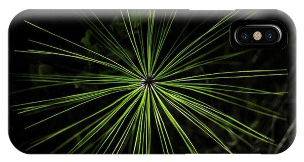 Pyrotechnics Or Pine Needles IPhone Case