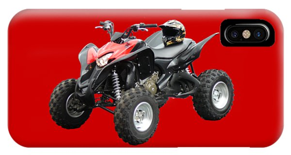Quad Bike And Helmet IPhone Case
