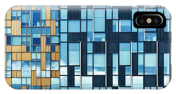 North London iPhone Case - Quadrilateral Colour by Tim Gainey