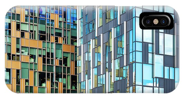 North London iPhone Case - Quadrilaterals by Tim Gainey