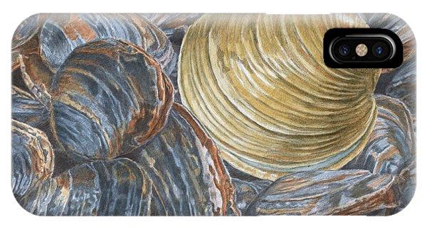 Quahog On Clams IPhone Case