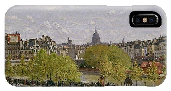 Avenue iPhone Case - Quai Du Louvre In Paris by Claude Monet