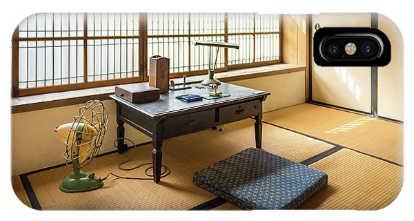 Quaint Tatami Office IPhone Case