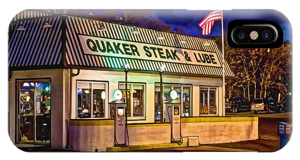 Quaker Steak And Lube IPhone Case