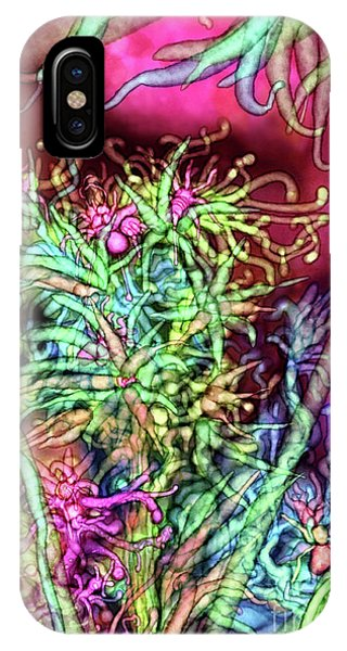 IPhone Case featuring the digital art Qualia's Tree by Russell Kightley