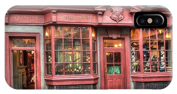 Quality Quidditch Supplies IPhone Case