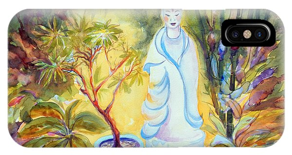 Quan Yin Garden IPhone Case