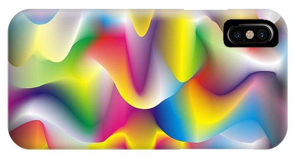 Quantum Landscape 1 IPhone Case