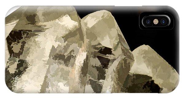 Quartz Crystal Cluster IPhone Case