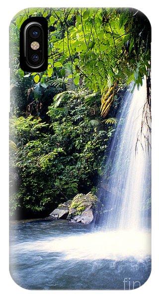 Quebrada Juan Diego Waterfall IPhone Case