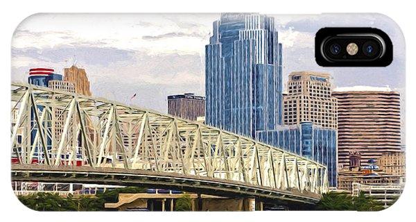Queen City - Van Gogh IPhone Case