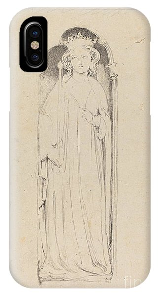 iPhone Case - Queen Eleanor, From Waltham Cross by Maria Denman After John Flaxman