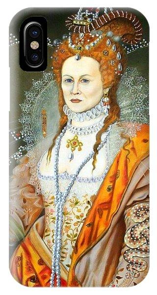 iPhone Case - Queen Elizabeth After Oliver by RB McGrath