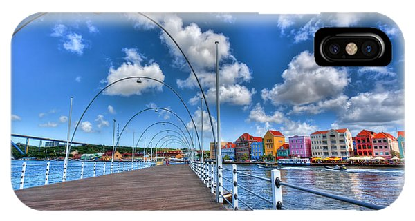 Queen Emma Bridge IPhone Case