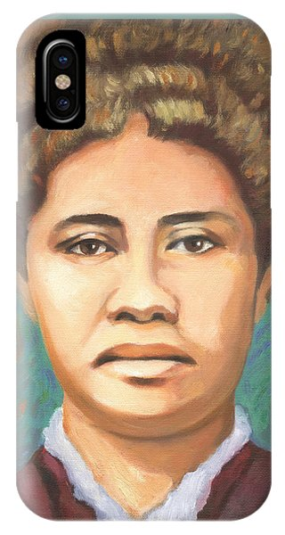 Queen Liliuokalani IPhone Case