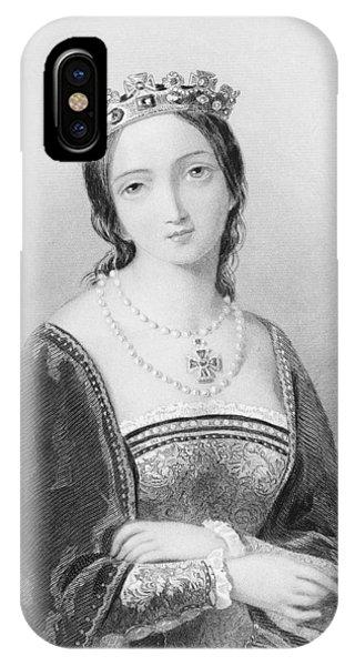 Queen Mary I, Aka Mary Tudor, Byname IPhone Case