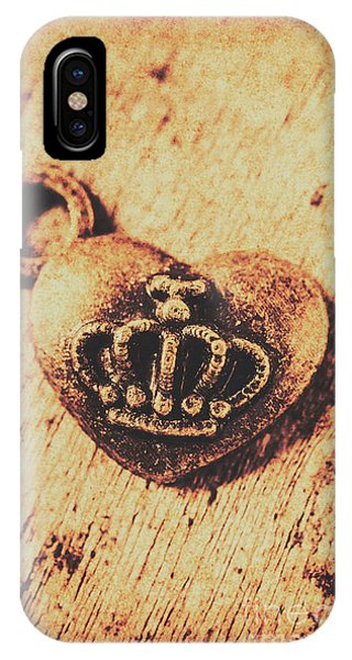 Luxury iPhone Case - Queen Of Hearts Charm by Jorgo Photography - Wall Art Gallery