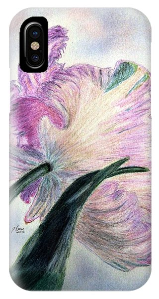 Lavender iPhone Case - Queen Of Spring by Angela Davies