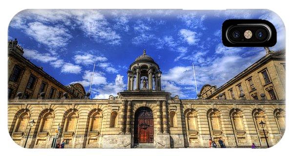 Queens College - Oxford IPhone Case