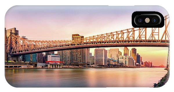 Queensboro Bridge At Sunset IPhone Case